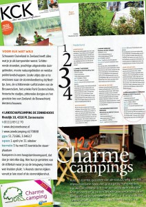 Charme camping De Zonnehoeve
