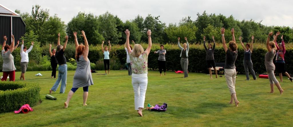 Yoga stiltetuin de Zonnehoeve